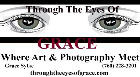 logo for Throught the eyes of Grace