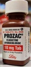 picture of Prozac is fluoxetine hydrochloride. Connection to Fluoride